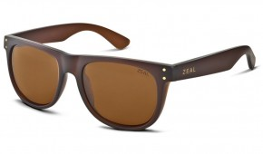 a020be3fea Zeal Ace sunglasses in Bombay Brown with Copper Polarised lenses.