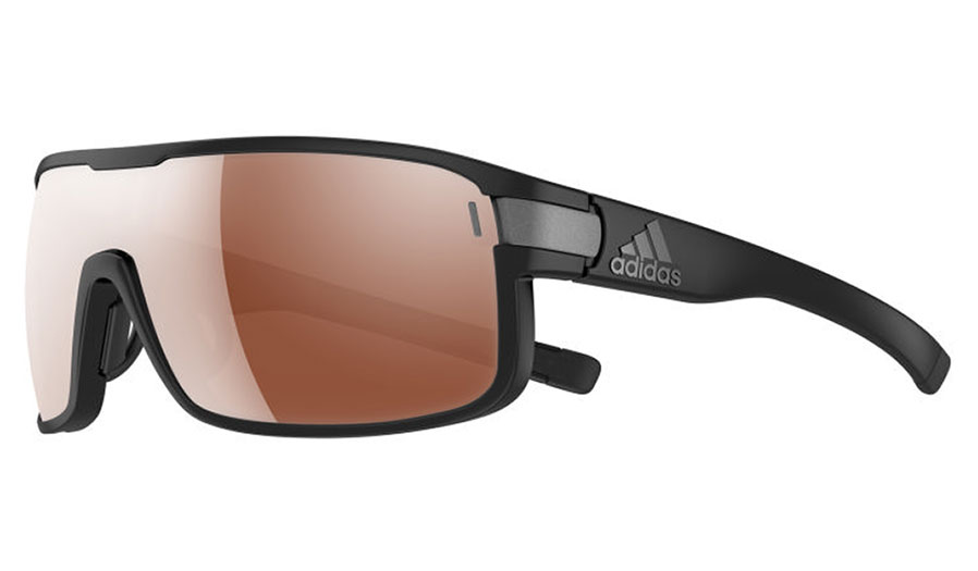 d3fac6b100 Anthony has the Adidas Zonyk Pro sunglasses – Coal   LST Bright Vario  Purple Mirror