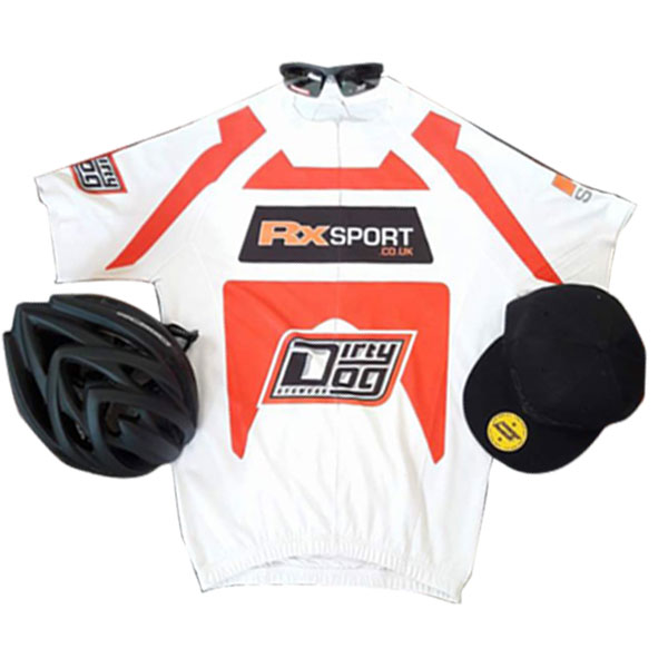 c6b45b6319 We ve liaised with Dirty Dog to create an RxSport cycling jersey and also  thrown in a Dirty Dog Helmet
