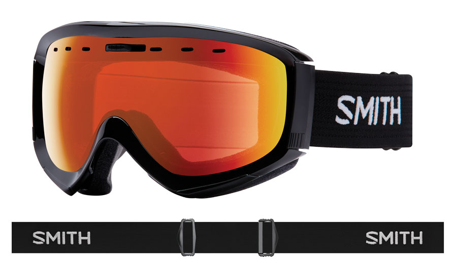 228a3289d61e SMITH OPTICS PROPHECY OTG SKI GOGGLES – BLACK   CHROMAPOP EVERYDAY RED  MIRROR – £104.99