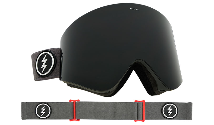 86440639e ELECTRIC EGX SKI GOGGLES – Prices start at £124.99. The EGX is the first  cylindrical goggle in the range to host Press Seal technology.