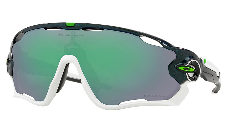 ee20afe65db The Oakley Jawbreaker was inspired by professional cyclist Mark Cavendish.  An extended field of vision in the upper periphery