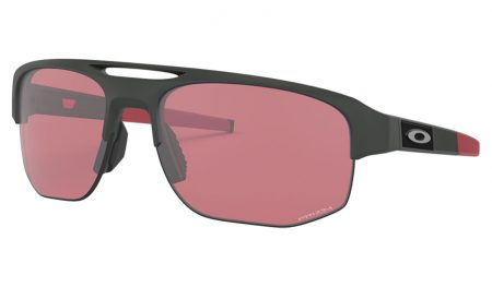 439ec45b531b For athletes looking to push their limits in style, Oakley Mercenary  sunglasses come to the fore with a wrapped shape and large half-rim lenses  featuring an ...