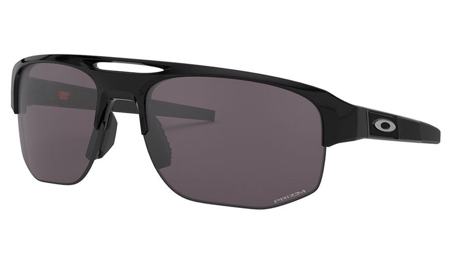 Oakley Mercenary Sunglasses - Polished Black / Prizm Grey