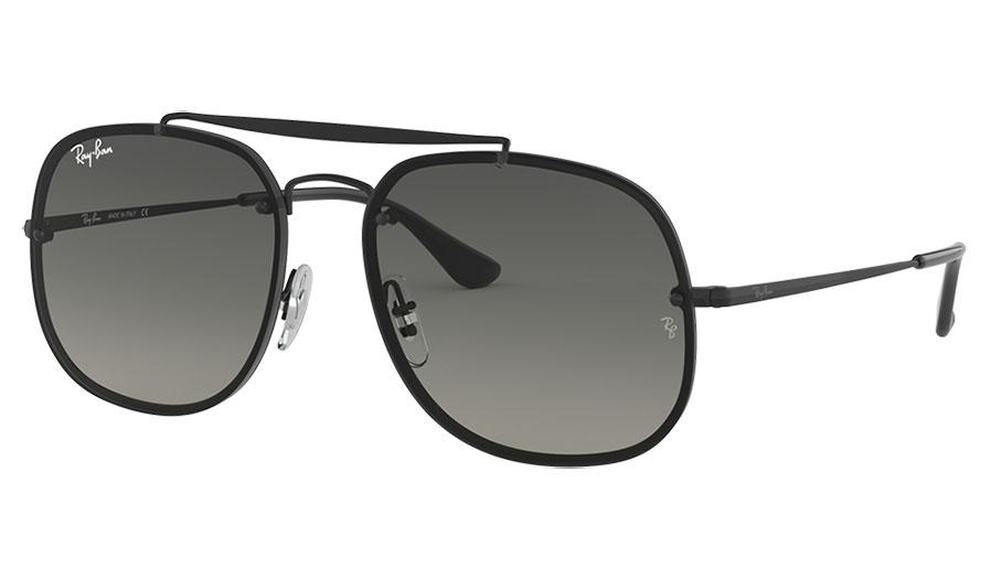 Ray-Ban RB3583N Blaze General Sunglasses - Black / Grey Gradient