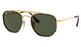 Ray-Ban RB3648M Marshal II Sunglasses - Gold / Green