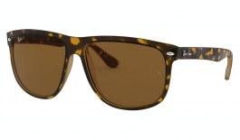 Ray-Ban RB4147 Boyfriend Sunglasses - Light Havana / Brown Polarised