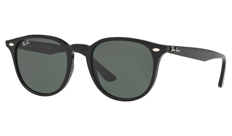 2f79804979 Ray-Ban RB4259 Sunglasses - Black   Green Classic - Ray-Ban Sunglasses -  RxSport