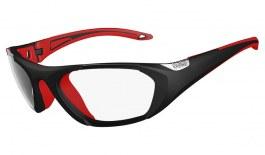 Bolle Baller Glasses - Black & Red / Clear