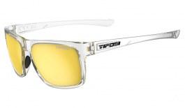 Tifosi Swick Sunglasses - Crystal Clear / Smoke Yellow