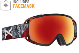 Anon Circuit MFI Ski Goggles - Red Planet / SONAR Red