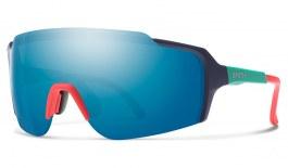 Smith Flywheel Prescription Sunglasses - ODS4 Insert - Matte Deep Ink / Chromapop Blue Mirror