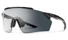 Smith Ruckus Prescription Sunglasses - ODS4 Insert - Black / Clear to Grey Photochromic + ChromaPop Contrast Rose