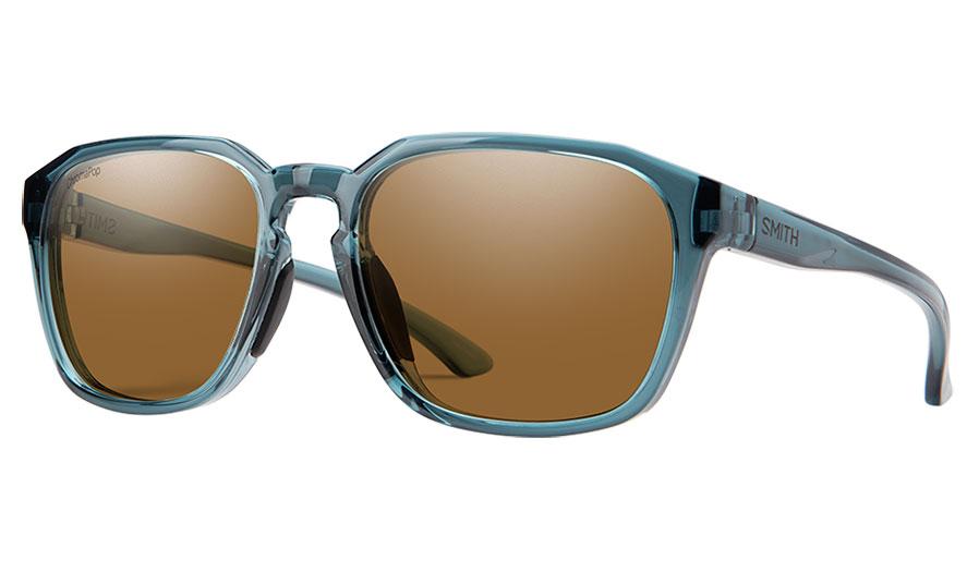 Smith Contour Sunglasses - Crystal Stone Green / ChromaPop Brown Polarised