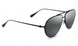 Maui Jim Shallows Sunglasses - Matte Black / Neutral Grey Polarised