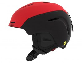 Giro Neo MIPS Ski Helmet - Matte Bright Red & Black