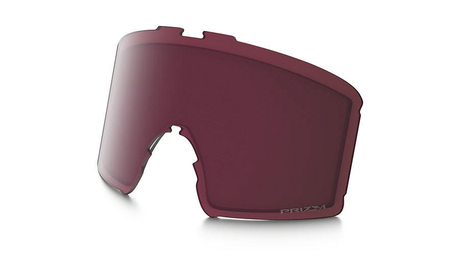 Oakley Line Miner XM Ski Goggles Replacement Lens Kit - Prizm Dark Grey