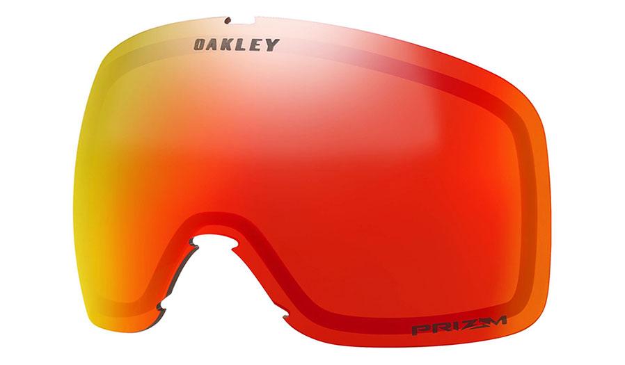 Oakley Flight Tracker XM Ski Goggles Replacement Lens Kit - Prizm Torch Iridium