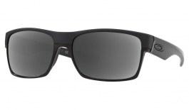 Oakley TwoFace Prescription Sunglasses - Steel (Polished Black Wire & Icon)