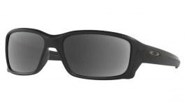 Oakley Straightlink Prescription Sunglasses - Matte Black (Gunmetal Icon)