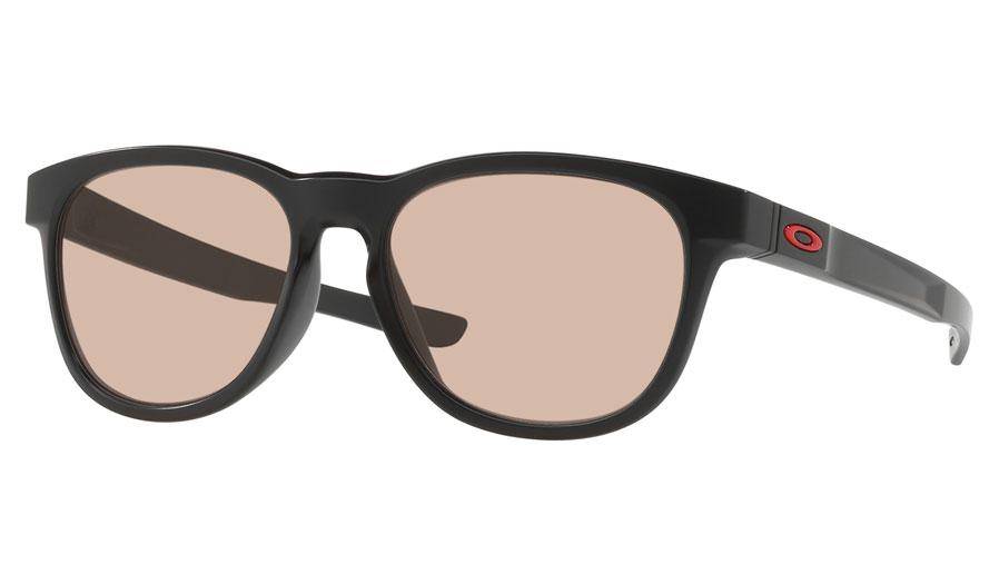 0249ea525d Oakley Stringer Prescription Sunglasses - Matte Black (Red Icon ...