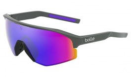 Bolle Lightshifter Prescription Sunglasses - Clip-On Insert - Matte Titanium / Volt+ Ultraviolet Polarised