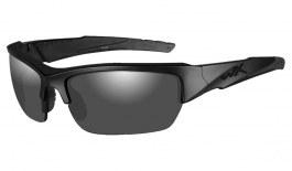 Wiley X Valor Sunglasses - Black Ops Edition - Matte Black / Smoke Grey