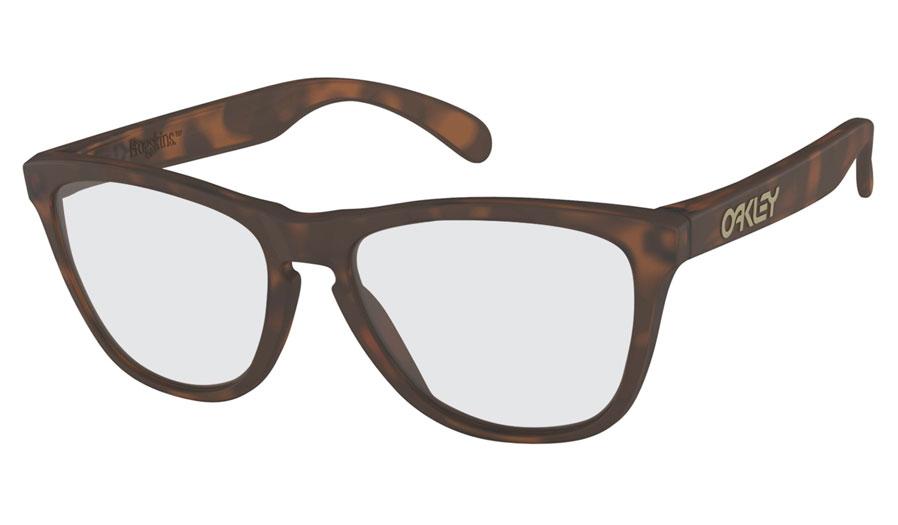 38999cd7cd Oakley Frogskins Prescription Sunglasses. Colour  Matte Brown Tortoise