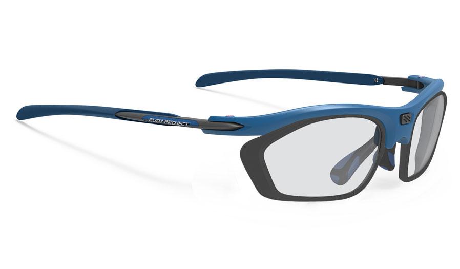 Rudy Project Rydon Slim Prescription Sunglasses - Optical Dock - Matte Pacific Blue