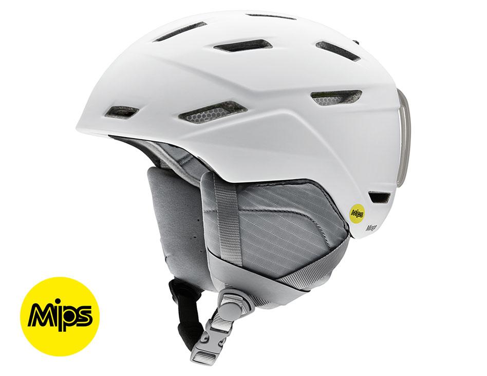Smith Mirage MIPS Ski Helmet - Matte White