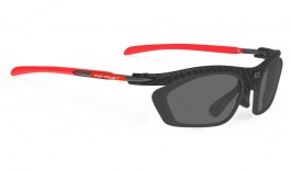 Rudy Project Rydon Prescription Sunglasses - Optical Dock - Carbonium & Red
