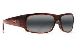Maui Jim World Cup Prescription Sunglasses - Chocolate Stripe Fade
