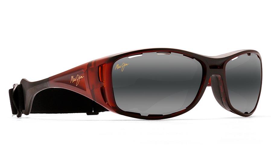 Maui Jim Waterman Prescription Sunglasses - Matte Rootbeer