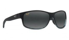 Maui Jim Kaiwi Channel Prescription Sunglasses - Grey Black Stripe