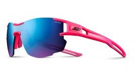 Julbo Aerolite Prescription Sunglasses - Clip-On Insert - Neon Pink / Spectron 3 CF Blue