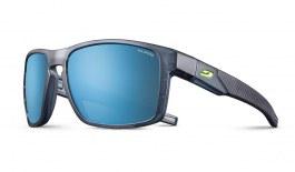 Julbo Stream Sunglasses - Translucent Black & Yellow / Spectron 3 CF Polarised Blue