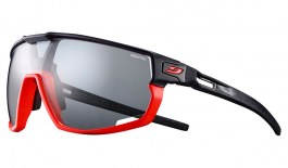 Julbo Rush Sunglasses - Matte Fluo Orange & Black / Reactiv Performance 0-3 Photochromic