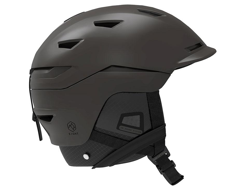 Salomon Sight Custom Air MIPS Ski Helmet - All Black