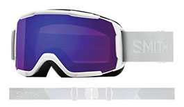 Smith Optics Showcase Prescription Ski Goggles - White Vapor / ChromaPop Everyday Violet Mirror