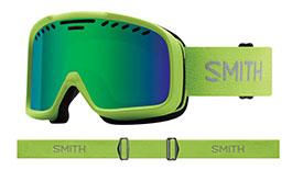 Smith Optics Project Prescription Ski Goggles - Flash / Green Sol-X Mirror