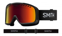 Smith Project Ski Goggles - Black / Red Sol-X Mirror