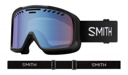 Smith Project Ski Goggles - Black / Blue Sensor Mirror