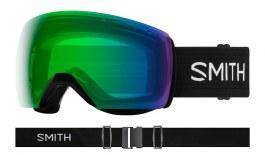Smith Skyline XL Prescription Ski Goggles - Black / ChromaPop Everyday Green Mirror