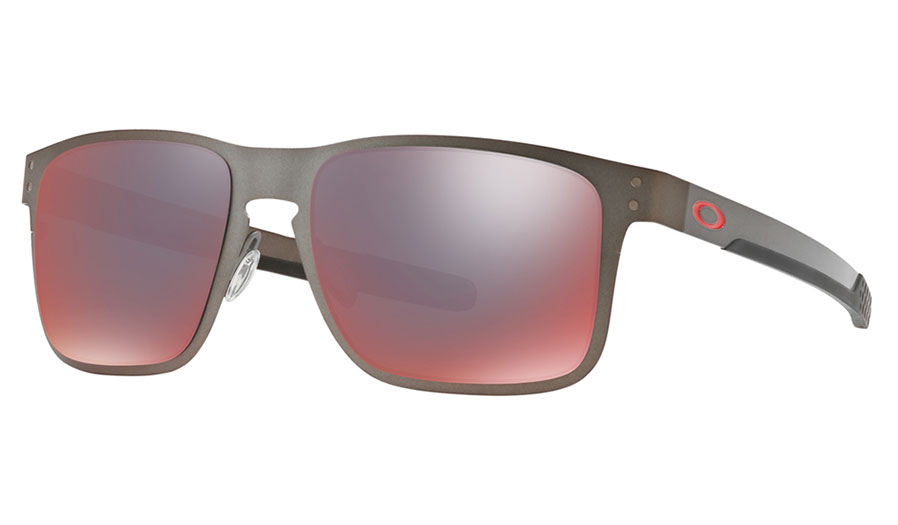 0e272c46d3 1. 2. 3. 4. PrevNext. Oakley Holbrook Metal Sunglasses - Matte Gunmetal   Torch  Iridium Polarised