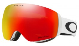 Oakley Flight Deck XM Ski Goggles - Matte White / Prizm Torch Iridium