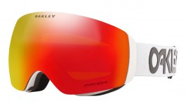 Oakley Flight Deck XM Ski Goggles - Factory Pilot White / Prizm Torch Iridium