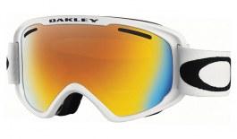 Oakley O Frame 2.0 XM Ski Goggles - Matte White / Fire Iridium