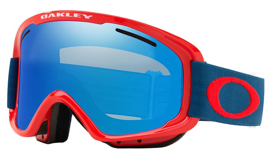 4b2a97cec47 Oakley O Frame 2.0 XM Ski Goggles - Red Poseidon   Black Ice Iridium ...