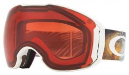Oakley Airbrake XL Ski Goggles - Matte White / Prizm Rose