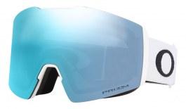 Oakley Fall Line XL Prescription Ski Goggles - Matte White / Prizm Sapphire Iridium